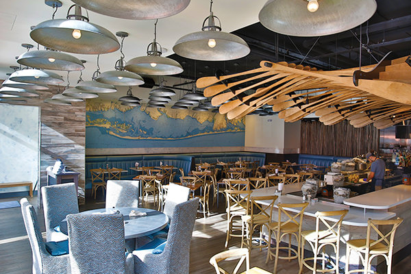View of Blue Island Oyster Bar, Internal.