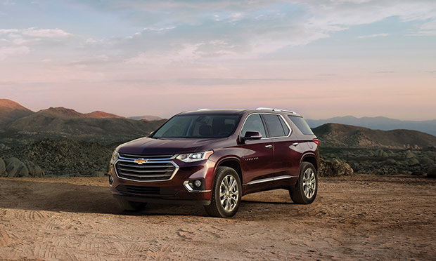 Spring 2018 Nice Drives - Crossovers - Chevy Traverse