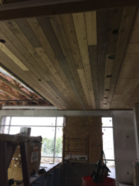 West Woods Build Interior