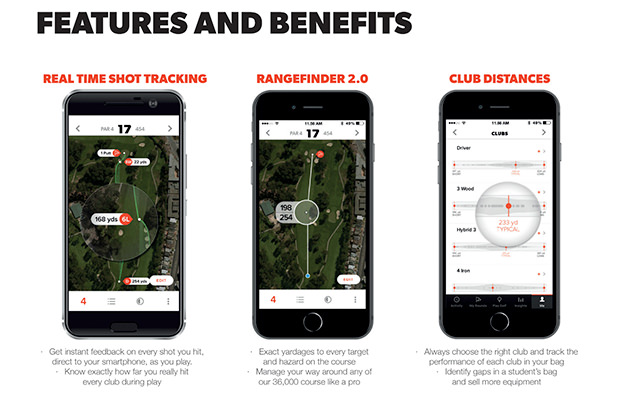 Game Golf Pro - Features