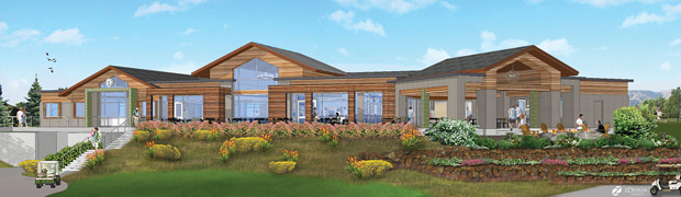 West Wood Golf Club New Clubhouse - 2018