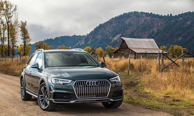 Keep on Truckin' - Luxury SUV's from Audi, Lincoln, and Range Rover