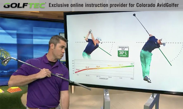 Want to drive it like Justin Thomas? Increase your shoulder tilt