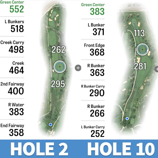 inverness golf club no.2 and no. 10