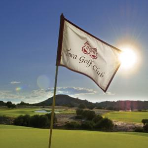 towa golf club flag