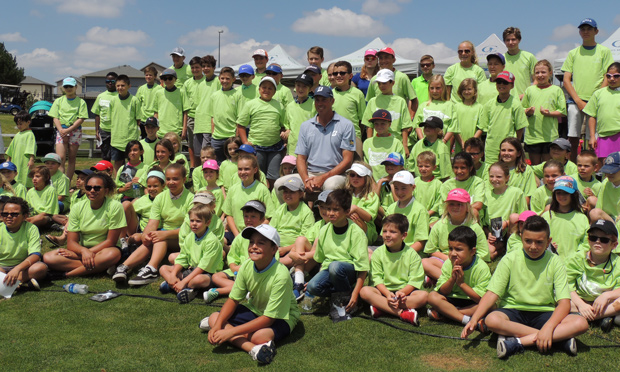 matt kuchar first tee of green valley ranch event