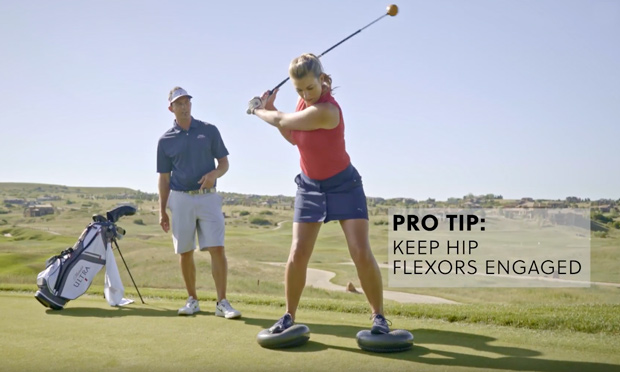 #GetGolfFit Fitness Series: Dyna Disk Balance
