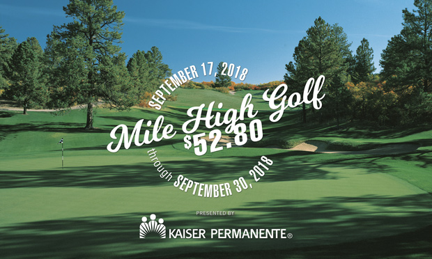 mile high golf at $52.80 cover 2018