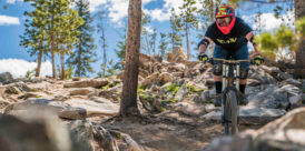 colorado golf - mountain biking