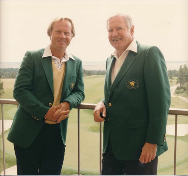 Jack Vickers and Jack Nicklaus