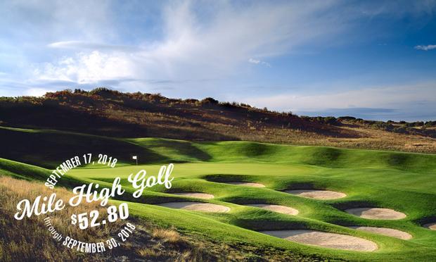 mile high golf at $52.80 red hawk ridge