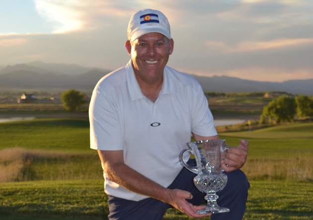 2018 Colorado PGA Champion Pat Reidy of The Inverness Golf Club.