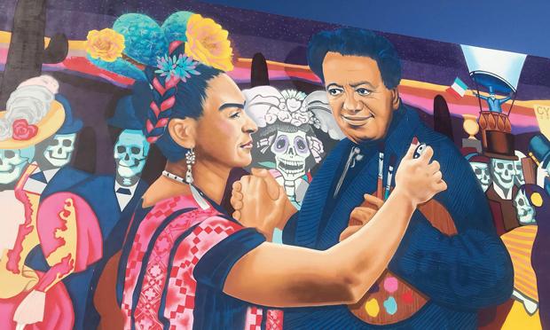 visit tucson mural frida kahlo