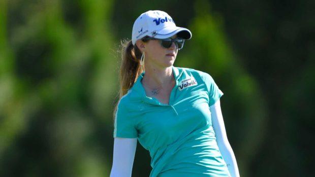 Becca Huffer (Photograph by Scott A. Miller/LPGA)