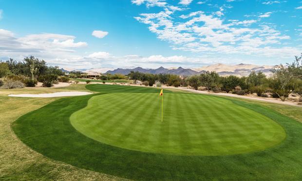tonto verde course view