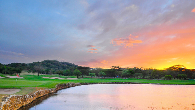 The finishing hole at Reserva Conchal.