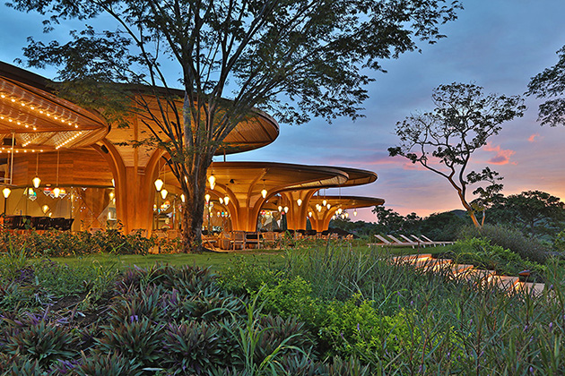 The new W Hotel at Playa Conchal, Costa Rica
