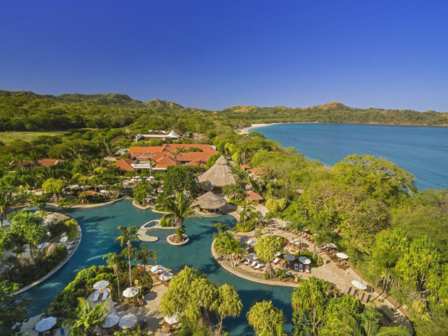 An aerial view of The Westin Hotel & Spa, Playa Conchal