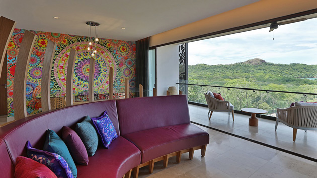 Ocean suite at the W Hotel, Playa Conchal