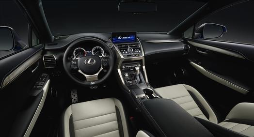 2018_Lexus_NX_300_Interior