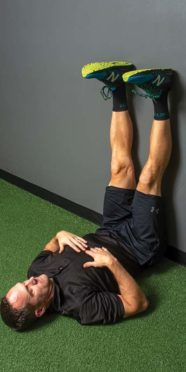 Back pain relief exercise, 2