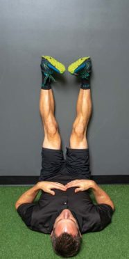 Back pain relief exercise, 3