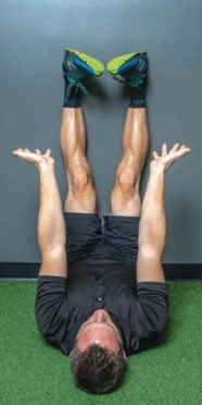 Back pain relief exercise, 4