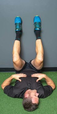 Back pain relief exercise, 9