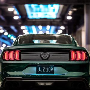 2019 Ford Mustang Bullitt - Rear