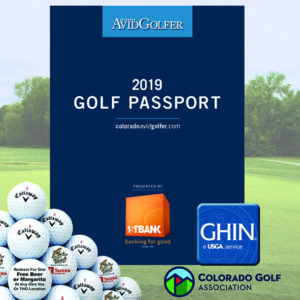 2019 Golf Passport Plus Deluxe