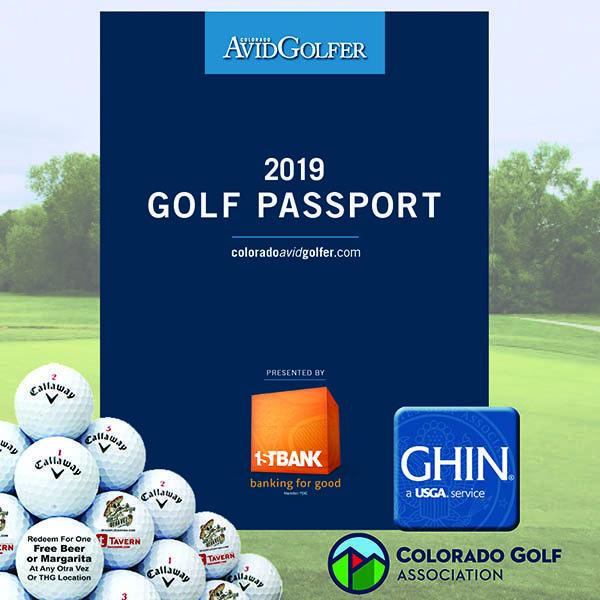 2019 Golf Passport Plus Deluxe