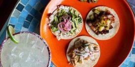Street tacos and a margarita - Otra Vez Cantina