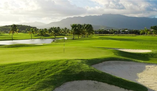 The Tom Kite-designed Championship Course at Coco Beach Golf and Country Club in Rio Grande, Puerto Rico