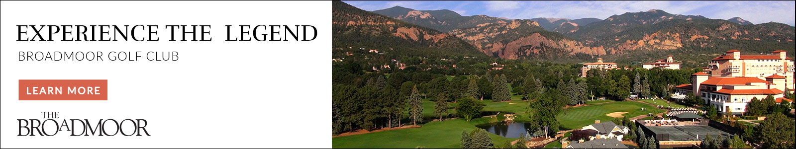 The Broadmoor Golf Club - Experience the Legend