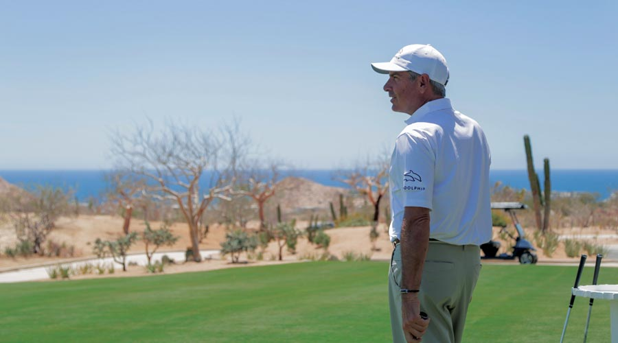 Fred Couples at Twin Dolphin Golf Club