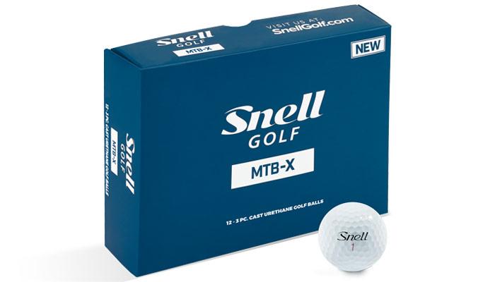 Snell Golf MTB-X Golf Ball - White