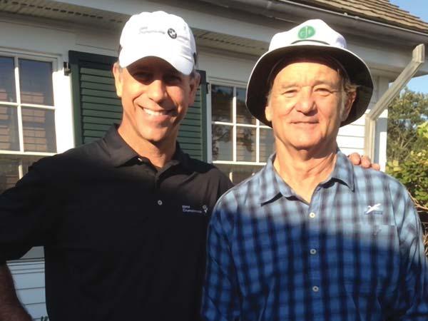 Bill Murray & George Solich