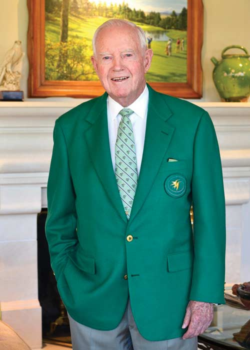 Jack Vickers wearing the green Castle Pines blazer