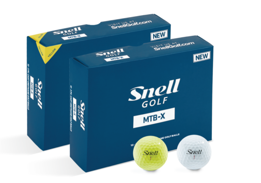 New Snell Golf MTB-X Golf Ball