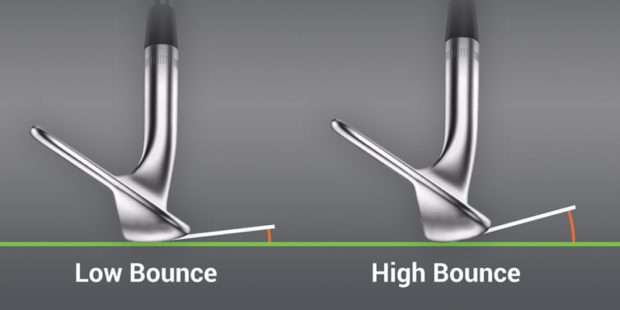 Wedge bounce: high vs low
