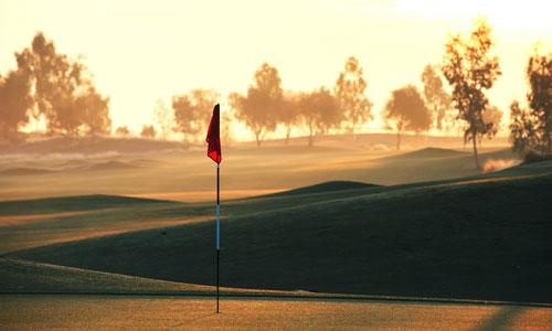 Ak-Chin Southern Dunes Golf Club Dawn