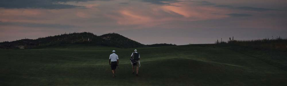 SOLE OF GOLF: Far from pedestrian, walking 18 at Ballyneal brings fitness, camaraderie, tradition and oneness with the game.