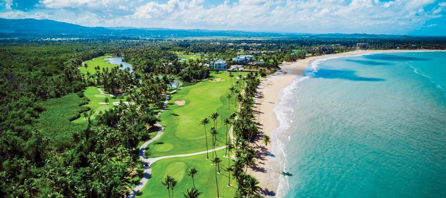 VAMOS A LA PLAYA: The Bahia Beach Resort Golf Club at St. Regis Bahia Beach.