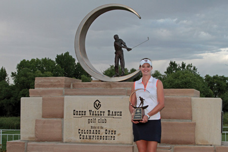 Becca Huffer, 2018 CoBank Colorado Women's Open Champion