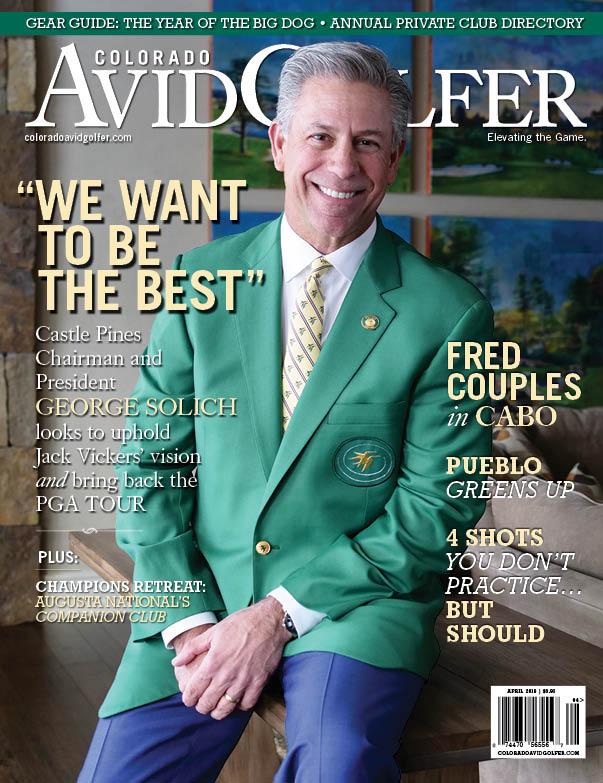 April 2019 Colorado AvidGolfer Magazine Cover