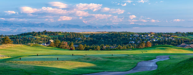 Country Club at Castle Pines at dawn
