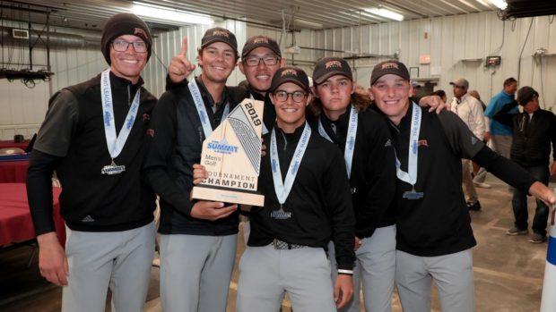 DU Men win Summit League Championship