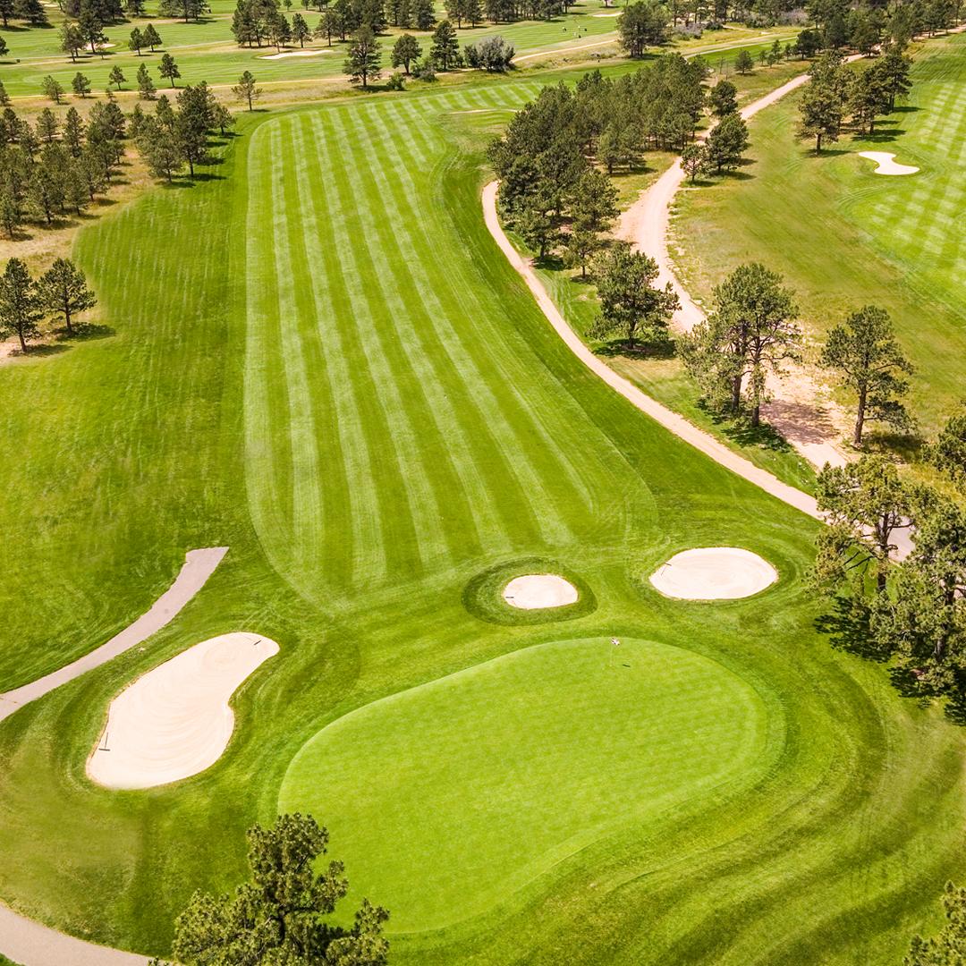 Eisenhower Golf Club, Blue Course