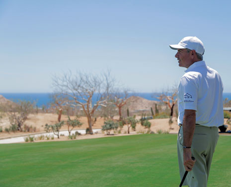 Fred Couples at Twin Dolphin Golf Club in Cabo San Lucas