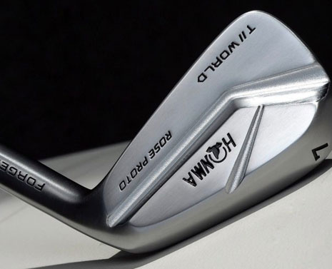 Honma Golf's new Justin Rose-inspired irons